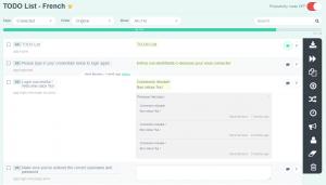 History link (Language page) - POEditor localization management platform