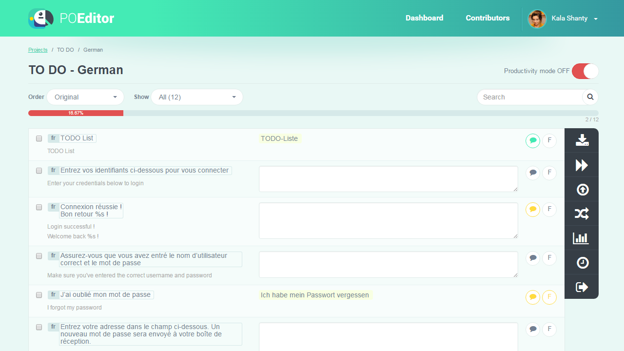 Set Reference Language - POEditor Translation Management Platform